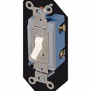 SWITCH 3-WAY 15A 347V IVORY