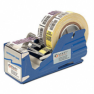 Multi Roll Tape Dispenser, Steel and Plastic, Blue