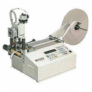 "Non-Adhesive Hot Material Angled Cutter, Max. Cutting Width 1.18"", Feed Speed 21"" per sec."