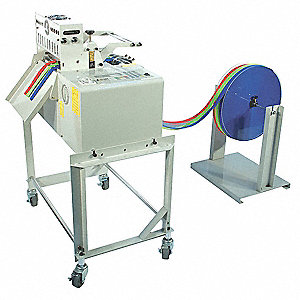 "Non-Adhesive Hot Material Cutter, Max. Cutting Width 7.87"", Feed Speed 21"" per sec."