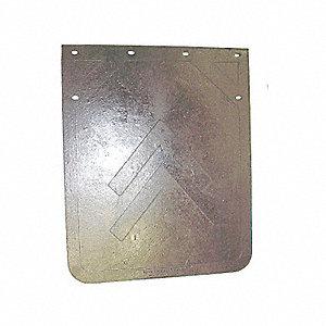 MUD FLAP PLAIN BK HD 20X15