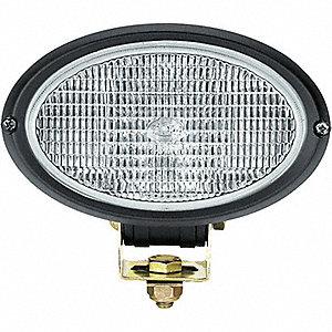 WORK LAMP OVAL 100 12V H3 CR SR PED