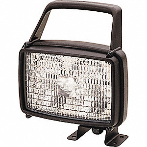 WORK LAMP AS115 PC 12V H3 CR PED W/