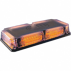LIGHTBAR MINI LED 12V FXD AMB