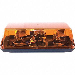 LIGHTBAR MINI HALOGEN 12V FXD AMB