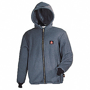 JACKET HOODED FR