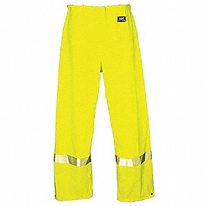 PANTS IMPERTECH SAFETY LIME XXL