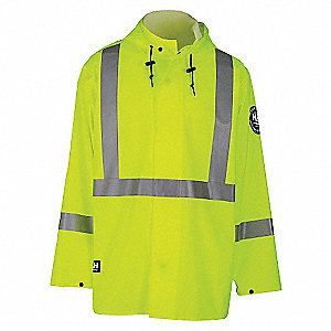JACKET IMPERTECH SAFETY LIME XXXL