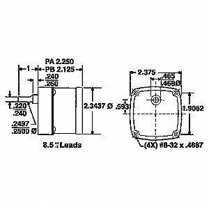 GEARMOTOR SYNCH 2 RPM