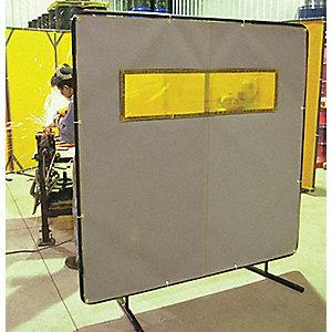 WELDING SCREEN WINDOWED 6FTX6FT