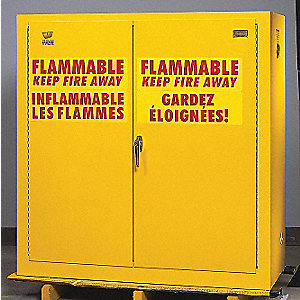 CABINET FLAMMABLE LIQUID 45X44X19D