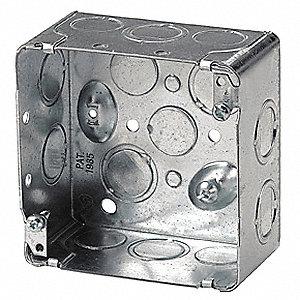 BOX DEVICE 4X4X2-1/8IN