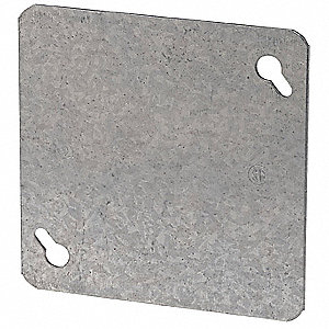 COVER BLANK FLAT 4IN SQUARE