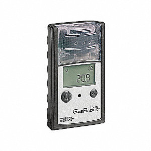 MONITOR GAS BADGE PLUS CO