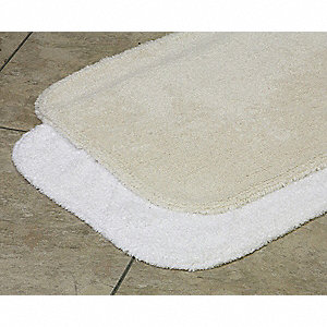 "36"" x 24"" Essence Cotton Bath Rug, Champagne"