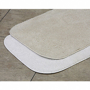 "36"" x 24"" Riviera Cotton Bath Rug, White"