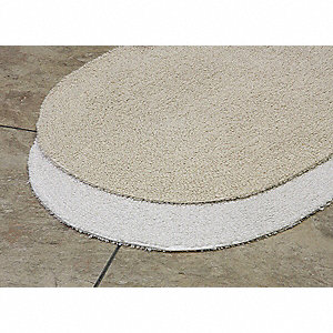 "40"" x 24"" Prominence Cotton Bath Rug, White"