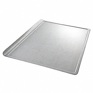 "Cookie Sheet, 10"" W x 14"" L Glazed Aluminized Steel"