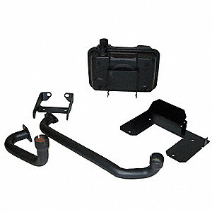 Muffler Kit,For Use With 11K742, 11K743