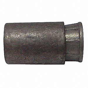 "Zamac Cone with 3-5 Percent Antimonial Lead Expander Caulking Anchor, 3/8"" Internal Thread Dia., 25"