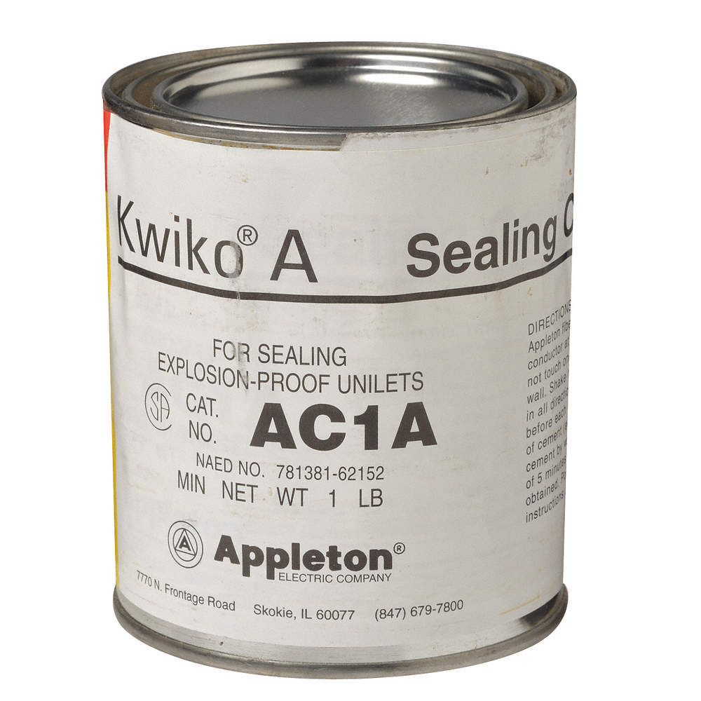 16 oz  Can Sealing Cement, Brown