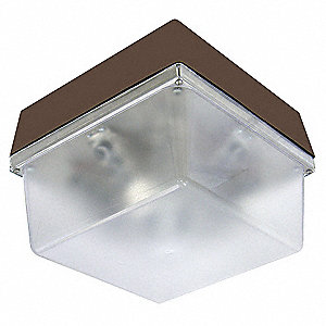 "12"" x 8-3/4"" x 12"" 48 Watt LED Wall Fixture, Bronze"