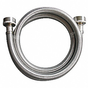 "48""L Stainless Steel Braided Water Connector for Washing Machine"