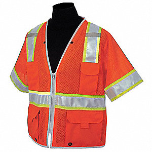 Polyester Mesh High Visibility Vest, Class 3