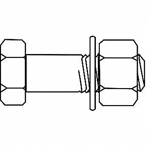 BOLT STRL A325T1 7/8X4-3/4