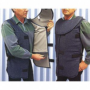 BODY PROTECTOR CHEST/GROIN DENIM XL