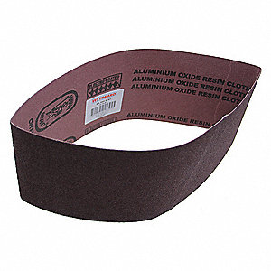 Sanding Belt,4 In Wx24 In L,AO,80GR