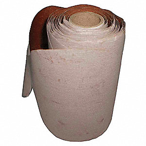 "6"" Coated Sanding Disc Roll, No Hole, 400 Grit, Super Fine Grade, Aluminum Oxide, 1 EA"
