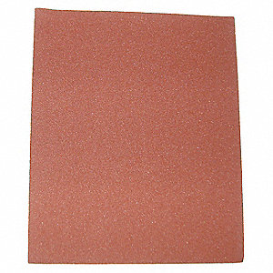"Fine Silicon Carbide Sanding Sheet, 150 Grit, 11"" L X 9"" W, Backing Weight : C, 50 PK"