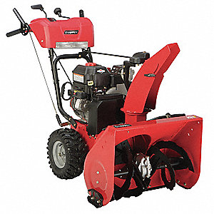 "Snow Blower, Clearing Path:  24"", Fuel Type: Gas, 12"" Auger Diameter"