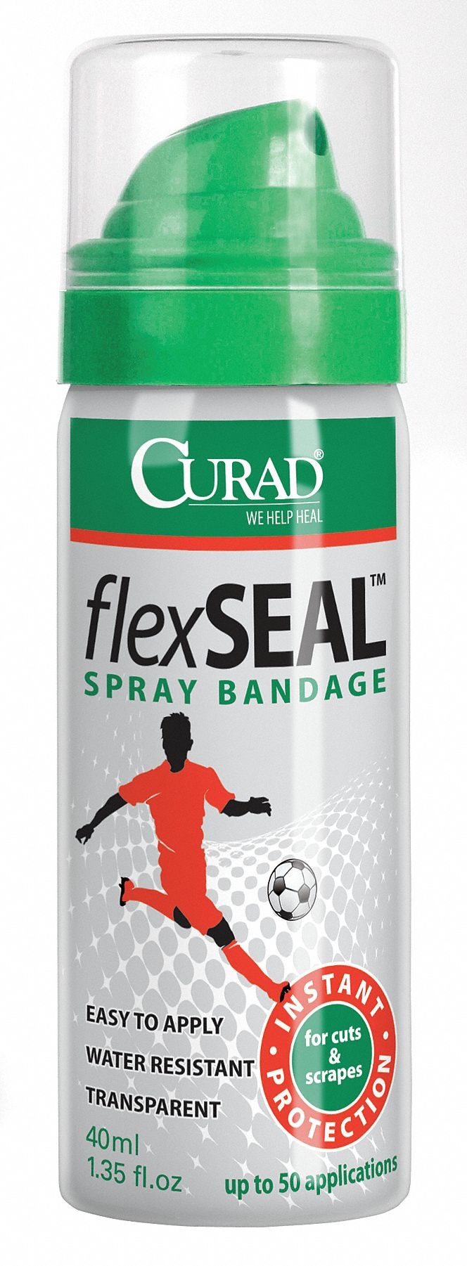 Aerosol Spray Bandage,  Dimethyl Ether, Ethanol,  1.35 oz,  Waterproof No