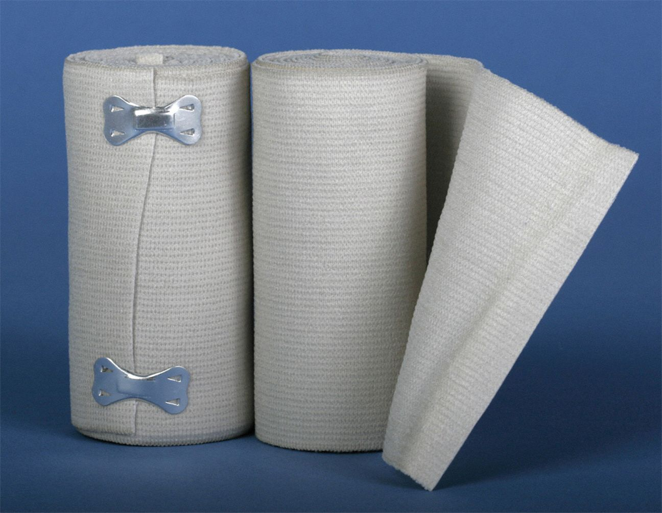 Bandage, Latex Free,  Bulk,  Non-Sterile,  Elastic Fabric,  Includes Clips,  PK 10
