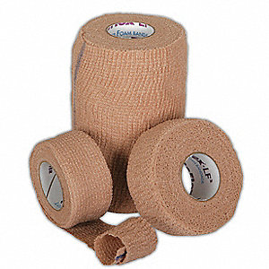 Bandage, Latex Free,Cohesive Foam,PK30