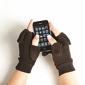 GLOVE FOR TEXTING WINTER BLACK SPR