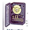 TIMER 24HR DPST 120V 30AMP