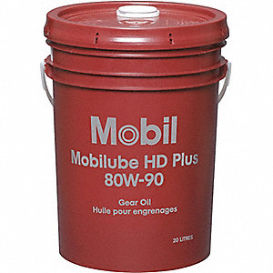 OIL GEAR MOBILUBE HD 80W-90 20L