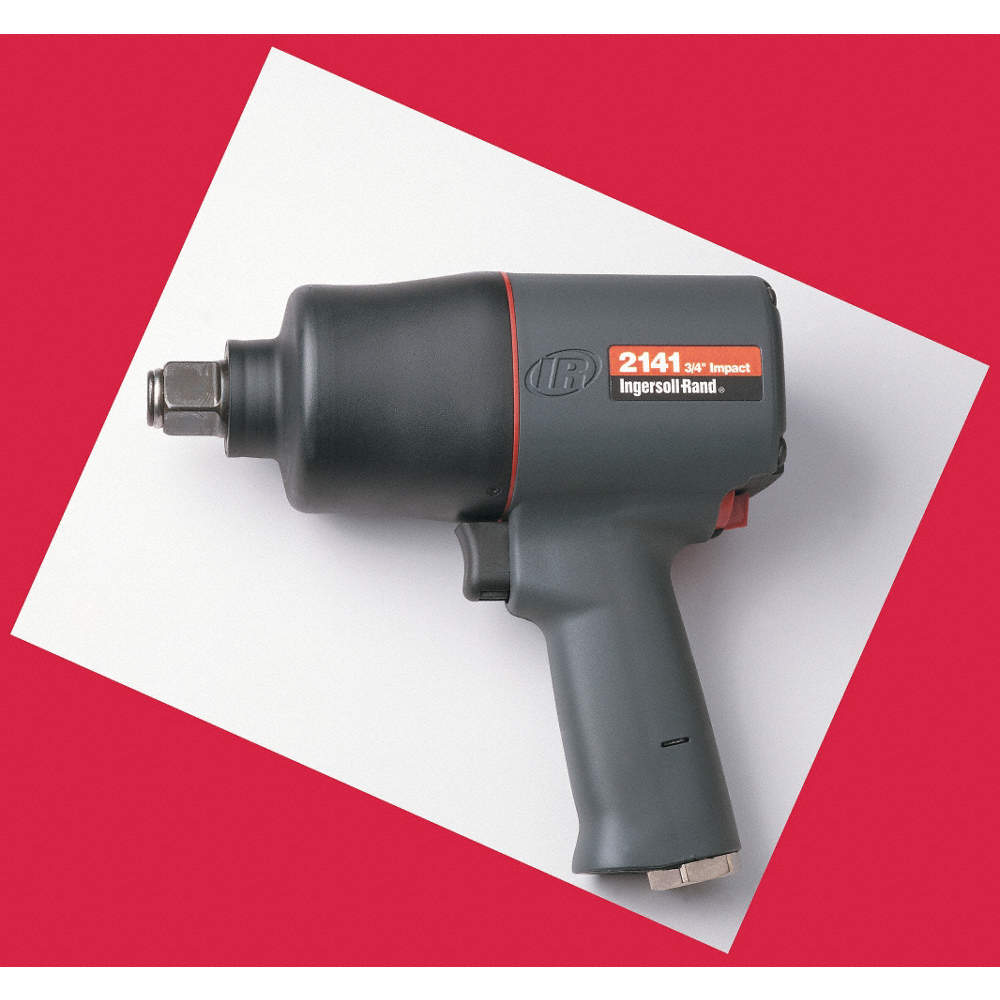 INGERSOLL RAND AIR IMPACT WRENCH,3/4 IN  DR ,8000 RPM - Air