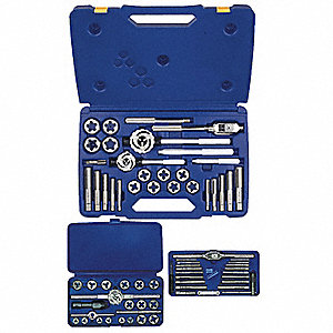 SET TAP/HEX KEY 66 PC METRIC