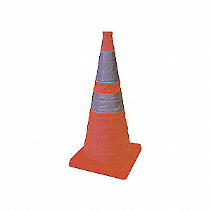 CONE TRAFFIC COLLAPS 18IN PACK OF 4