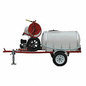 TRAILER OFF ROAD W/125 GA WATERTANK
