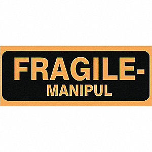 LABELS 2X5 500/RL FRAGILE-MANIPUL