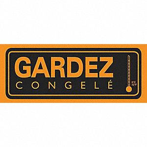 LABELS 2X5 500/RL GARDEZ CONGELE