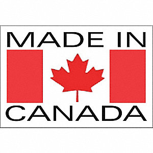 LABELS 3X2 1000/RL MADE IN CANADA