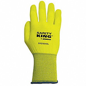 GLOVES HIGH VIZ SIZE L