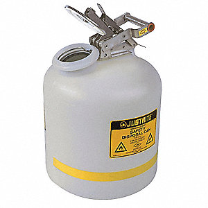 SAFETY CAN FOR LIQUID DISPOSAL, 5 GAL