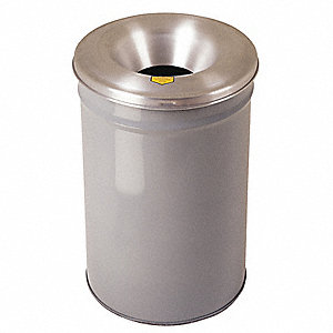 HEAD FIRE CHECK WASTE RECEPTACLE